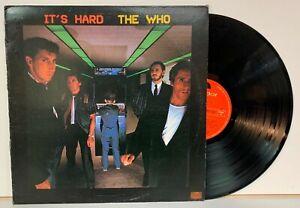 18947 LP 33 giri - The Who - It's hard - Polydor 1982