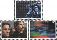 Schweiz 1560-1562 (kompl.Ausg.) gestempelt 1995 100 Jahre Kino