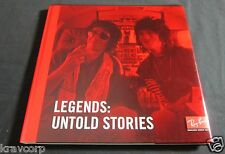 ROLLING STONES/DYLAN/MICHAEL JACKSON 'LEGENDS' 2012 LIMITED ED BOOK--RAY-BANS