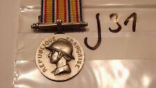 Orden Frankreich Feuerwehr Verdienstmedaille silbern (j31-)