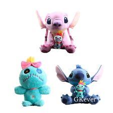 3pcs Lilo & Stitch Angel Scrump Plush Soft Stuffed Doll Kids Teddy Baby Toy Set