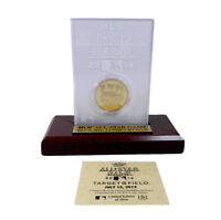 Highland Mint 2014 MLB All-Star 24Kt Gold Flashed Coin and Etched Acrylic