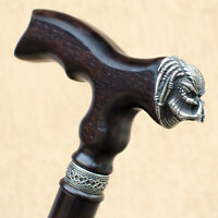 Handmade Fancy Men's Walking Cane Stick - Predator - Cool Wooden Canes for Men