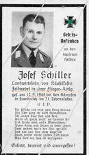 STERBEBILD   AVIS DE  DECES  SOLDAT  ALLEMAND   PROVENCE  1944  ( 244 )