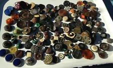 vintage buttons lot of 180 antique art deco 2lbs. estate collection Steampunk