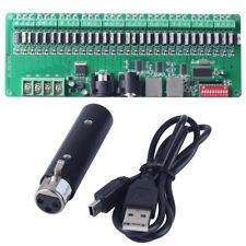 DMX Controller 30 channels LED RGB DMX Decoder with USB DMX Controller DC9V-24V