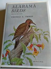 Alabama Birds Second Edition Autographed Thomas A. Imhof Hardcover