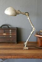 Vintage industrial Lamp articulating drafting Light Steampunk workbench desk