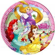 Piatti  Carta  Principesse Disney  23 cm  , Festa Compleanno PS  07780