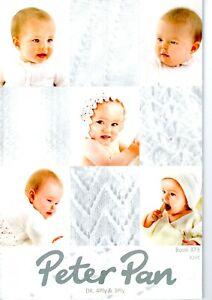 Peter Pan Baby Knitting  Book 373 (Dk,4Ply &3Ply)