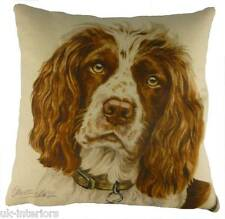Springer Spaniel Cushion by Evans Lichfield - Waggy Dogz