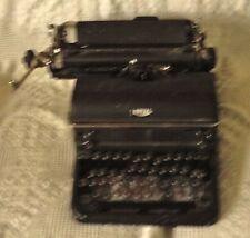 Vintage Royal Typewriter With Glass Keys, Steampunk