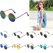 Hippie Circle Round Glasses Sunglasses Cyber Goggles Vintage Retro Hippy Eyewear