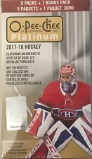 2017-18 Upper Deck O-Pee-Chee Platinum Hockey 6ct Blaster Box