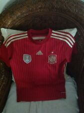Adidas Spain FIFA 2010 World Champions Soccer/futbol Jersey Size M youth