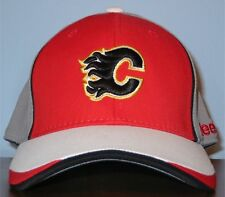 Reebok NHL Draft Calgary Flames Ball Cap Hat Size YOUTH age 4-7 years Fitted