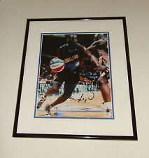 "Shawn Kemp Signed Framed Photo Cleveland Cavaliers 13.5"" x 11.5"" w/ COA 23"