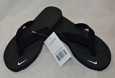 Nike Women's Celso Girl Black/White Thong Sandals (314870-011) Size 7/8/10 NWB
