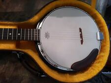 Made in U.S.A. regal banjo with case!