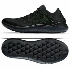 Nike Free RN Flyknit 2018, UK 7.5/EUR 42/US 8.5,942838-002, BNIB, Black, Running