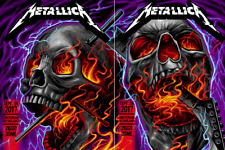 Metallica Amsterdam Netherlands Poster Ziggo Dome Super Rare SET SAME #r posters
