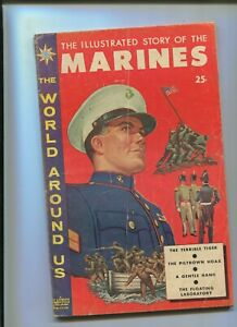 THE WORLD AROUND US #11 (4.0) THE MARINES! 1959