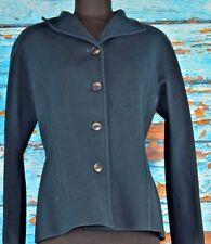 Linda Allard Ellen Tracy Women's Blazer Jacket Size 8 Wool Moss Career Cute
