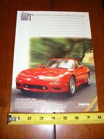 1993 MAZDA RX-7 ORIGINAL AD