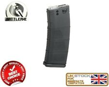 BATTLEAXE M SERIES M4/16 MID CAP 150 MAGAZINE BLACK AIRSOFT ASG FBP2369