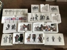 Department 56 - Heritage Village - Lot Of 5 Boxes Of Villagers And 2 Empty Boxes