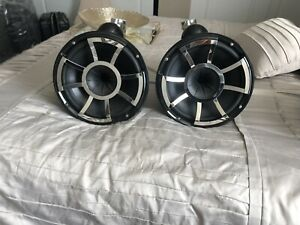 Used Wet Sounds Rev 10 Tower Speakers With Swivel Mounts