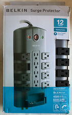 Belkin PivotPlug 12-Outlet Surge Protector with 8' Power Cord BP112230-08
