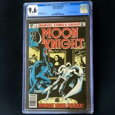 Moon Knight #3 (1981) 💥 CGC 9.6 NEWSSTAND 💥 1st App Midnight Man! Marvel Comic