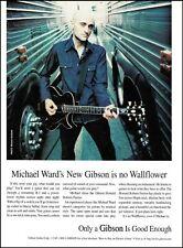 The Wallflowers band Michael Ward Gibson Howard Roberts Fusion guitar ad print
