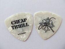 Cinderella -- Jeff Labar --  Signature Guitar Pick - 'Cheap Thrills' Pearl rare