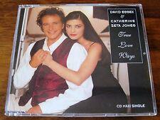 David Essex / Catherine Zeta Jones - True Love Ways  - Scarce Mint Cd Single