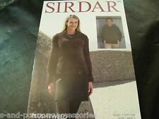 Sirdar Plushtweed Sweater Pattern 7872