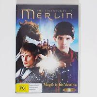 The Adventures of Merlin DVD TV Series Season 1 Region 4 AUS - 4 x Disc Set