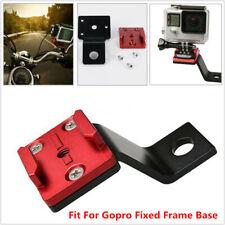 1x Motorcycle Handlebar Base CNC Balance Sports Camera Support Holder For Gopro