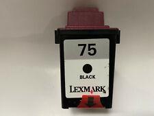 Original Lexmark 75 Black 12a1975 1.100 pages F. x63 x73 x83 x85 e621-a4 #