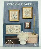 Cross Stitch Chart COLONIAL FLOWERS I Homespun Elegance Sandra Sullivan No.88