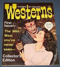 Favorite Westerns Of Filmland #1 Scarce Warren Magazine 1960 Nice!