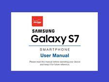Samsung Galaxy S7 User Manual for Verizon (model SM-G930V)