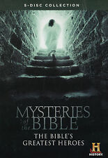 MYSTERIES of the BIBLE * NEW & SEALED *  5-DVD Set Region 1
