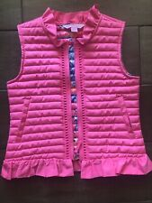 Lilly Pulitzer Girls Pink quilted vest Small(4-5)