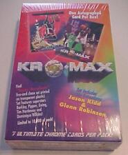 1994 KRO-MAX CHROME Basketball Wax Box One Autographed card per pox