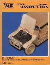 CMK 1/35 M151A2 MUTT Ford Four Cylinder OHV Engine Set (Tamiya & Academy) 3002