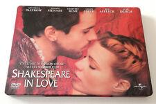 SHAKESPEARE IN LOVE ED. SPECIALE STEELBOOK STEEL BOX METALLO OTTIMO RARO ITA!!
