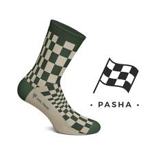 Heel Tread Pasha Olive/Tan Socks