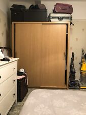 NEXT Home Large Double Door Oak Effect wardrobe
